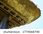 Thatched Roof Of An Old...