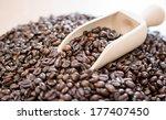 coffee beans | Shutterstock . vector #177407450
