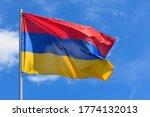 The flag of armenia is a...