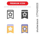 tag icon pack isolated on white ...