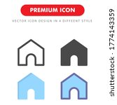 home icon pack isolated on...