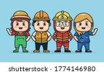illustration of labor character ... | Shutterstock .eps vector #1774146980