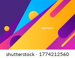 modern abstract background with ... | Shutterstock .eps vector #1774212560