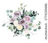 dusty violet lavender  mauve... | Shutterstock .eps vector #1774230686