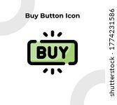buy button icon with dashed...