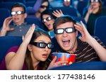 so realistic movie  shocked... | Shutterstock . vector #177438146