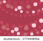 vector illustration of chain of ... | Shutterstock .eps vector #1774448966