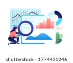a research and analytics role... | Shutterstock .eps vector #1774451246