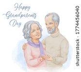 grandparents watercolor...   Shutterstock .eps vector #1774456040