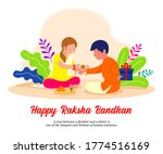 brother and sister celebrating...   Shutterstock .eps vector #1774516169