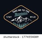 mountain illustration  outdoor... | Shutterstock .eps vector #1774554089