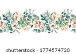 watercolor illustration.... | Shutterstock . vector #1774574720