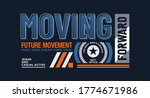 moving forward stylish... | Shutterstock .eps vector #1774671986