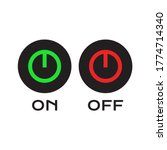 on off switch  red and green on ...