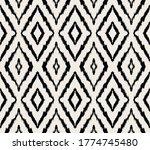 ikat geometric folklore... | Shutterstock .eps vector #1774745480