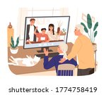 adult children and... | Shutterstock .eps vector #1774758419