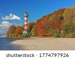 Autumn Landscape With Beach And ...