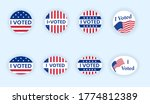 i voted sticker collection.... | Shutterstock .eps vector #1774812389