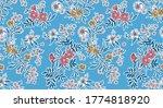 elegant pattern in small... | Shutterstock .eps vector #1774818920