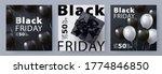 black friday sale banner ... | Shutterstock .eps vector #1774846850