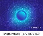 abstract background vector... | Shutterstock .eps vector #1774879460