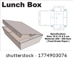 lunch box that is simple but... | Shutterstock .eps vector #1774903076