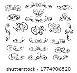 set of decorative elements for... | Shutterstock .eps vector #1774906520
