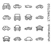 modern thin line icons set of...   Shutterstock .eps vector #1774907510