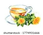 Up Of Herbal Safflower Tea...