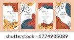 social media stories and post...   Shutterstock .eps vector #1774935089