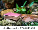 Bible With Leather Cover On To...