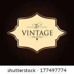Vintage Card Design For...