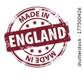 rubber stamp with text made in... | Shutterstock .eps vector #177500426