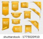 golden banners  corners for web ... | Shutterstock .eps vector #1775020910