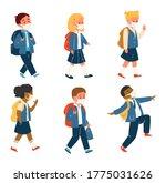 vector set of different race...   Shutterstock .eps vector #1775031626