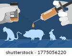 the vector  of pre clinical... | Shutterstock .eps vector #1775056220