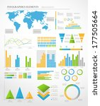 set of infographic elements.... | Shutterstock .eps vector #177505664