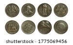 Set Of Old Coins 10 Mark  From...