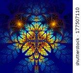 multicolor fabulous fractal... | Shutterstock . vector #177507110