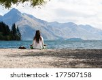 Yoga In The Nature In Mountain...