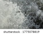 Water Splashes From Waterfall...