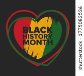 black history month. african...   Shutterstock .eps vector #1775082536