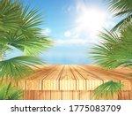 3d render of a tropical... | Shutterstock . vector #1775083709