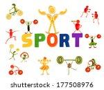 healthy eating. little funny...   Shutterstock . vector #177508976