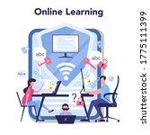 it education online service or... | Shutterstock .eps vector #1775111399