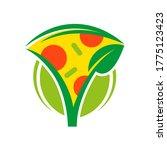logo flat icon element...   Shutterstock . vector #1775123423