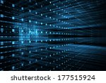 abstract business science or... | Shutterstock . vector #177515924