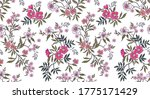vintage floral background.... | Shutterstock .eps vector #1775171429