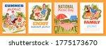 summer picnic poster template... | Shutterstock .eps vector #1775173670