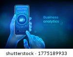 business data analytics and... | Shutterstock .eps vector #1775189933
